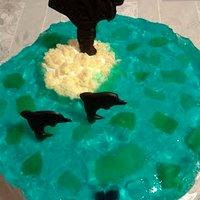 Ciasto jak błękitna laguna