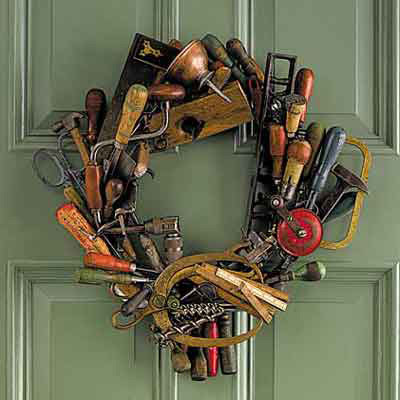 Tool-Themed Wreath | Editor's Picks: Our Favorite Holiday ...
