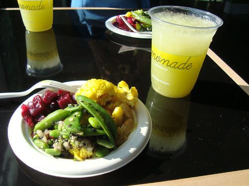 Lemonade's lemonade & deli salad trio