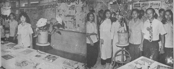 Trường Trung học Cộng đồng Quận 8 năm 72- 73