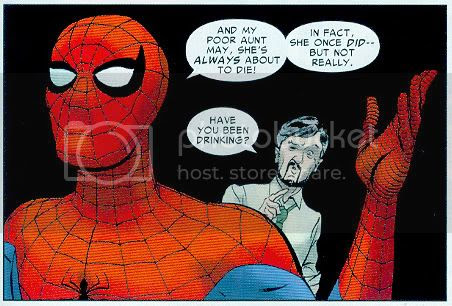 Spidey and Dr. Gray Madder