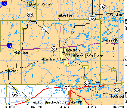 Jackson County Michigan Detailed Profile Houses Real