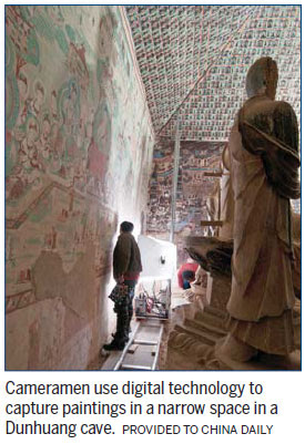 Writing's on wall as old-style archaeology goes digital