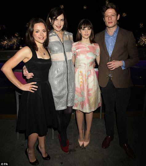Downton Abbey star Elizabeth McGovern goes for futuristic