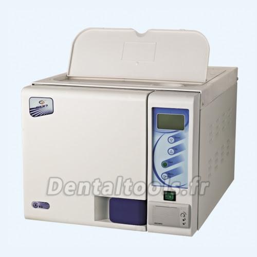 SUN® 23L Classe B Tabletop Autoclave de 3 vacuums pulsatoires avec imprimante et tank en haut