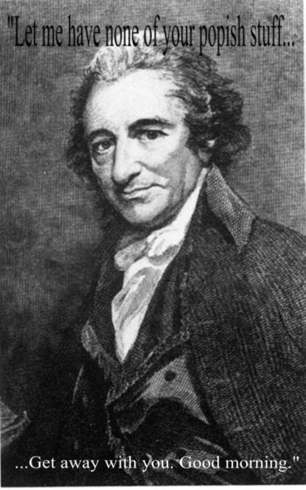 Last words by Thomas Paine