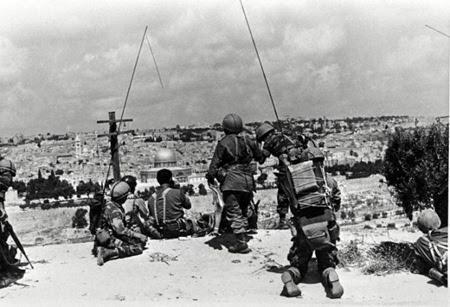 Truppe israeliane nei pressi di Gerusalemme