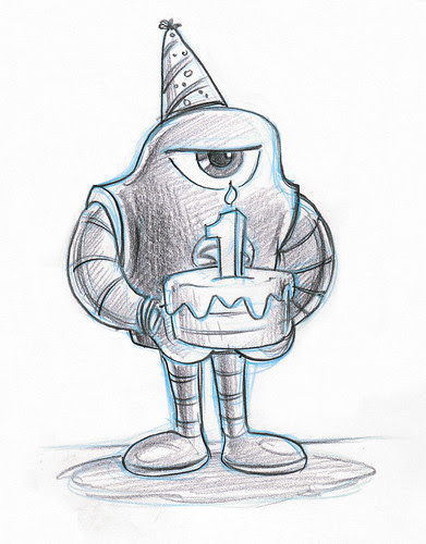 Happy Birthday Sketchbot!