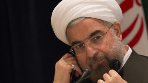 Iran's President Hassan Rouhani takes questions from journalists during a news conference in New York September 27, 2013. REUTERS/Adrees Latif