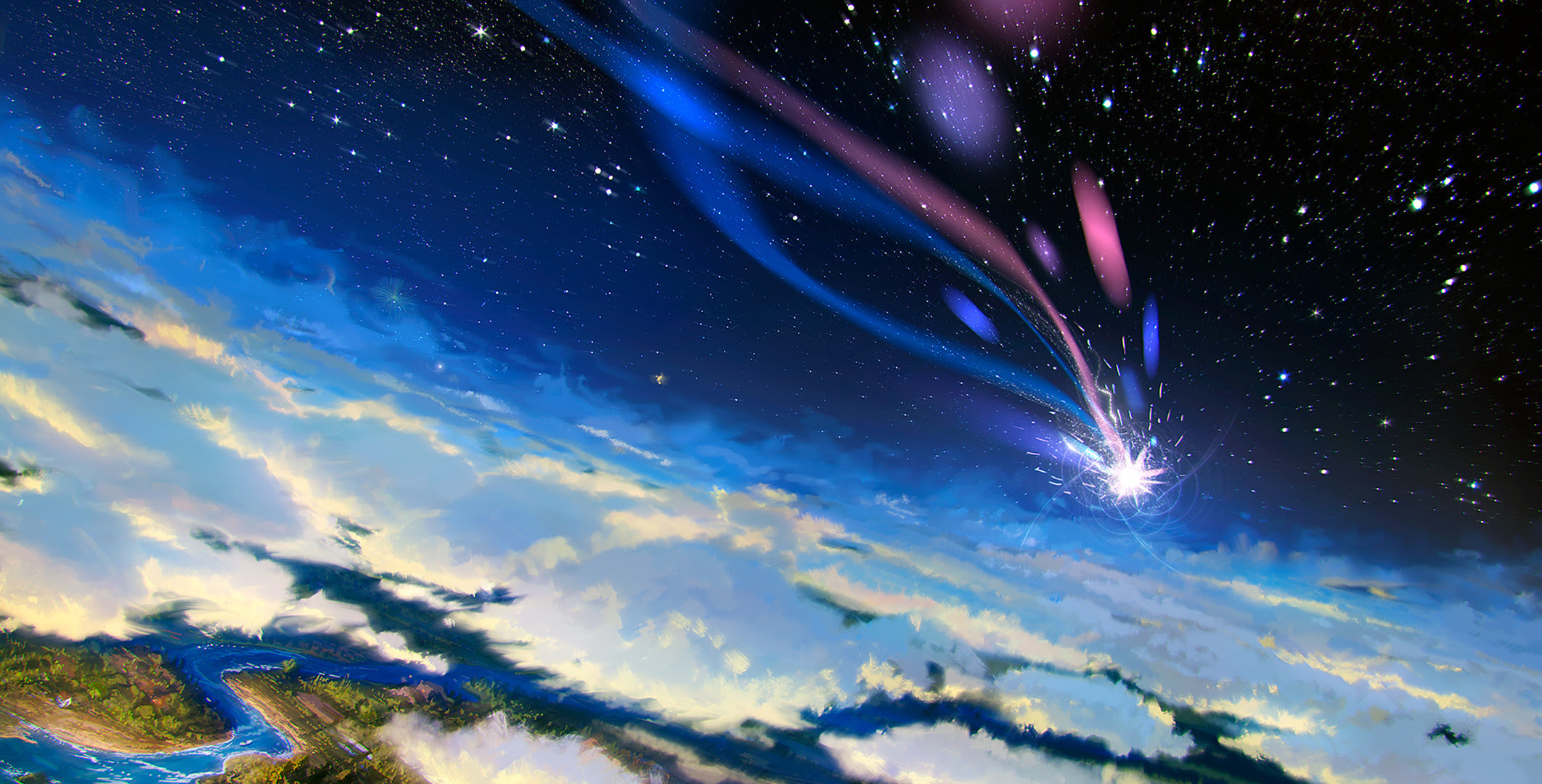 Shooting Stars Wallpaper (76+ images)