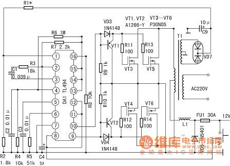 80 watt amplifier circuit diagram