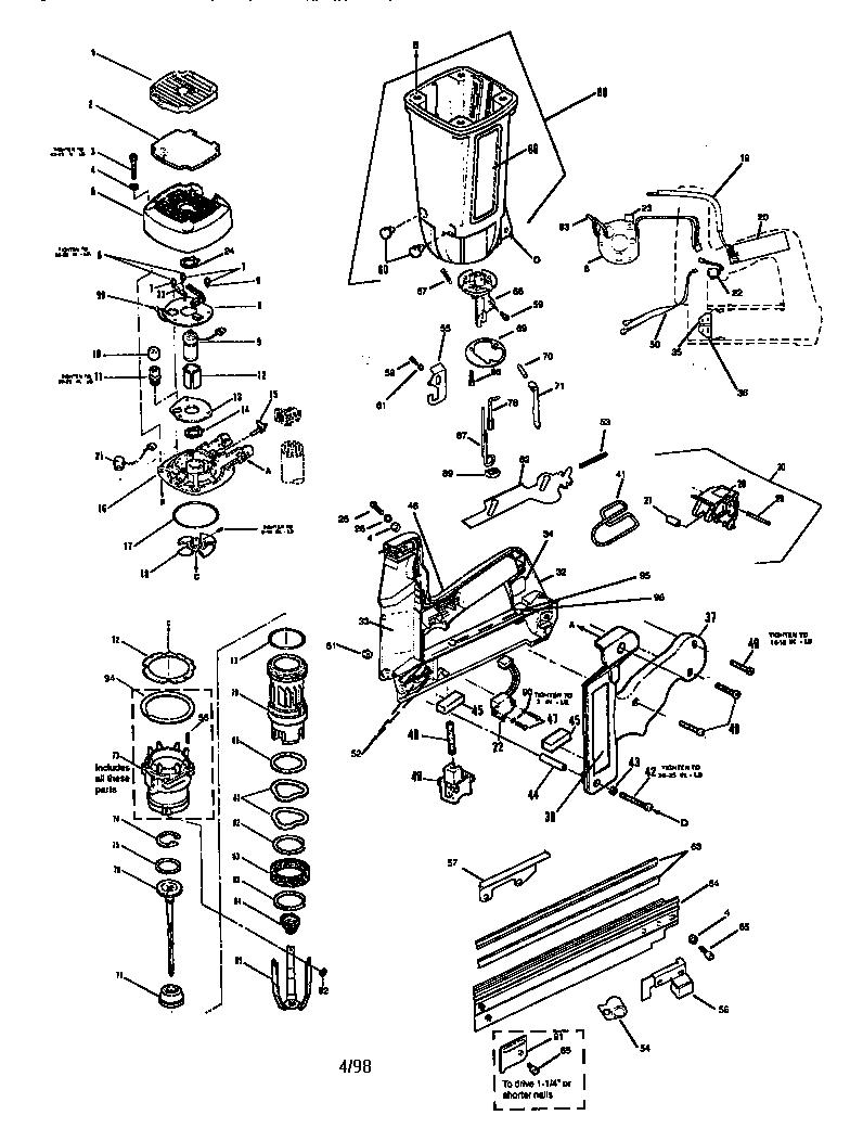32 Paslode Framing Nailer Parts Diagram