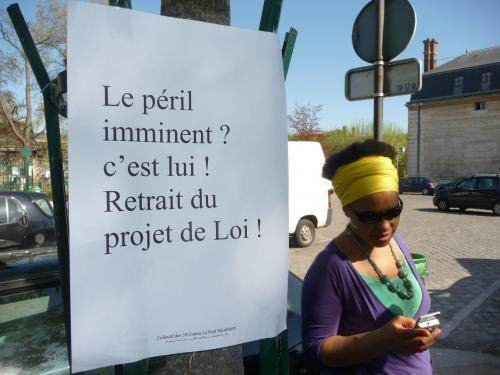 Manifestation en mars 2011