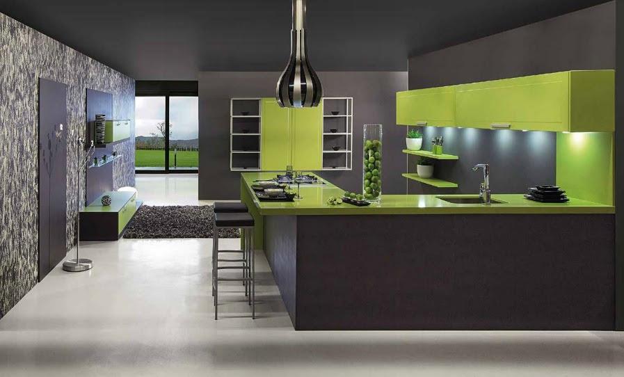 Kitchen Ideas Green Decorating