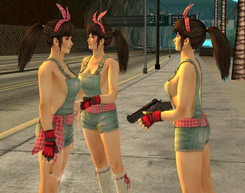 Modeeper Reskins - GTA SAN ANDREAS: Kasumi Version 112