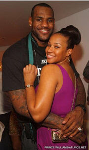 LeBron and Savannah James - Nbafamily Wiki