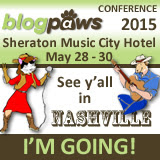 I'm Going to BlogPaws 2015! Join me!