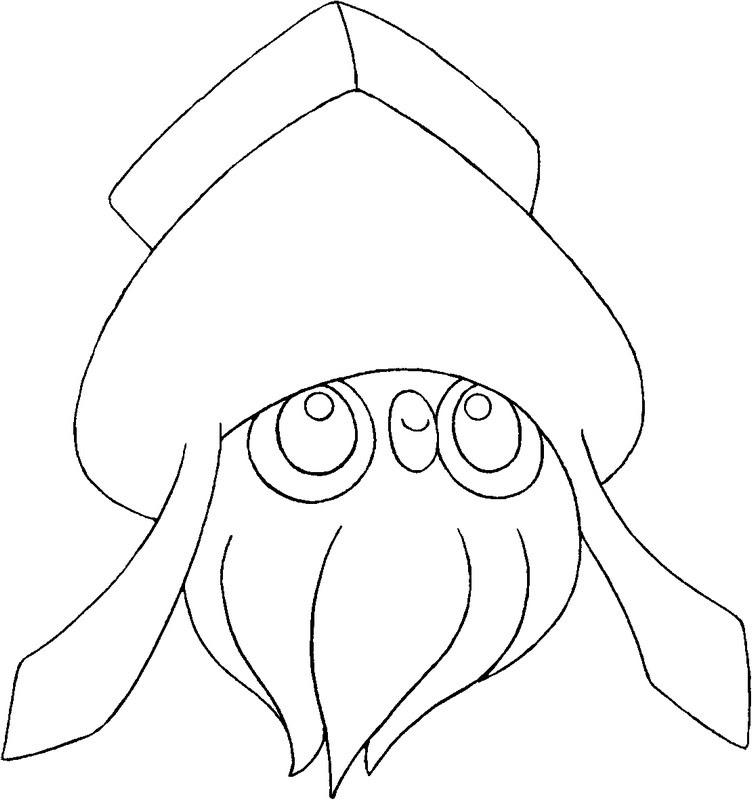 Dibujos Para Colorear Pokemon Inkay Dibujos Pokemon
