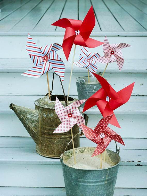 Easy 4th of July Homemade Decorations Ideas   Family Holiday