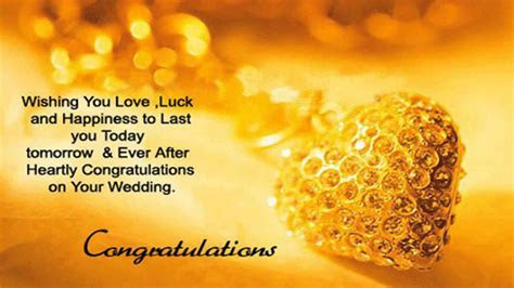 Congratulations on you wedding best wishes and greetings