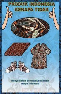 Gambar Reklame Tentang Batik Indonesia - Gambar Reklame