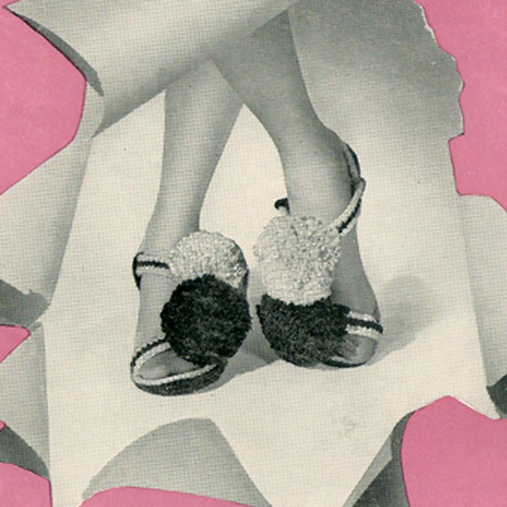 Pompom Crochet Sandals Pattern
