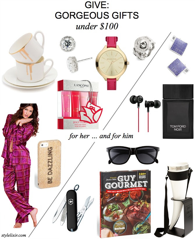 GIVE: Gorgeous Gifts For Her and Him - Under $100 - Style Elixir