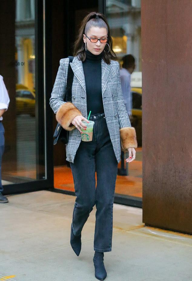 bella hadid milan fashion week street styles  chiko shoes