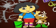 Dora Boyama Oyunu Boyama Oyunları
