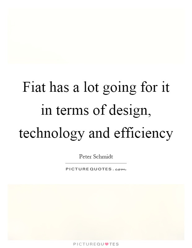 Technology makes possibilities. Design makes solutions ...