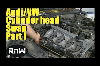 2010 Audi A4 Cylinder Head Removal