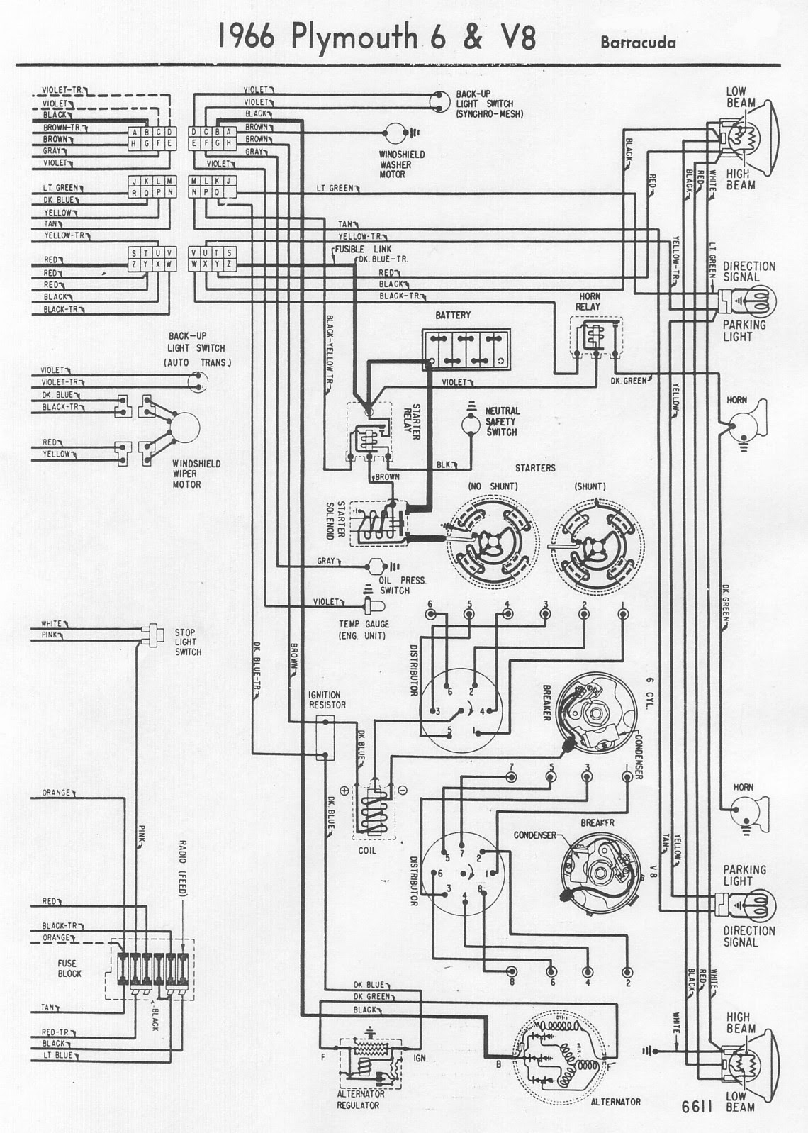 3e6fe 1967 Plymouth Fury Wiring Diagram Schematic Wiring Resources
