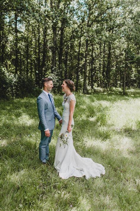 Woodland Glam Cuyahoga Valley National Park Wedding