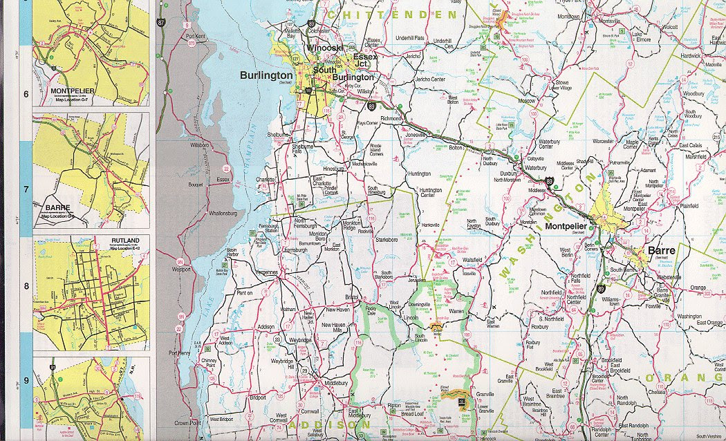 Vermont Maps State Maps City Maps County Maps And More