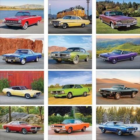 Muscle Cars Calendar 2020