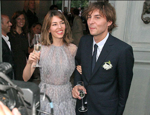 Sofía Coppola y Thomas Mars