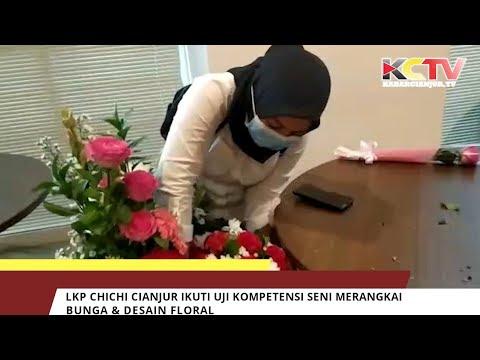 LKP CHICHI Cianjur Ikuti Uji Kompetensi Seni Merangkai Bunga & Desain Floral