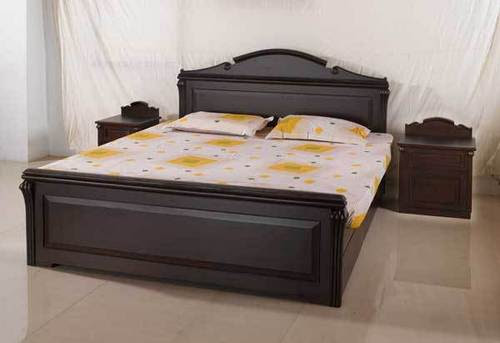 indian bed designs in wood - Home design