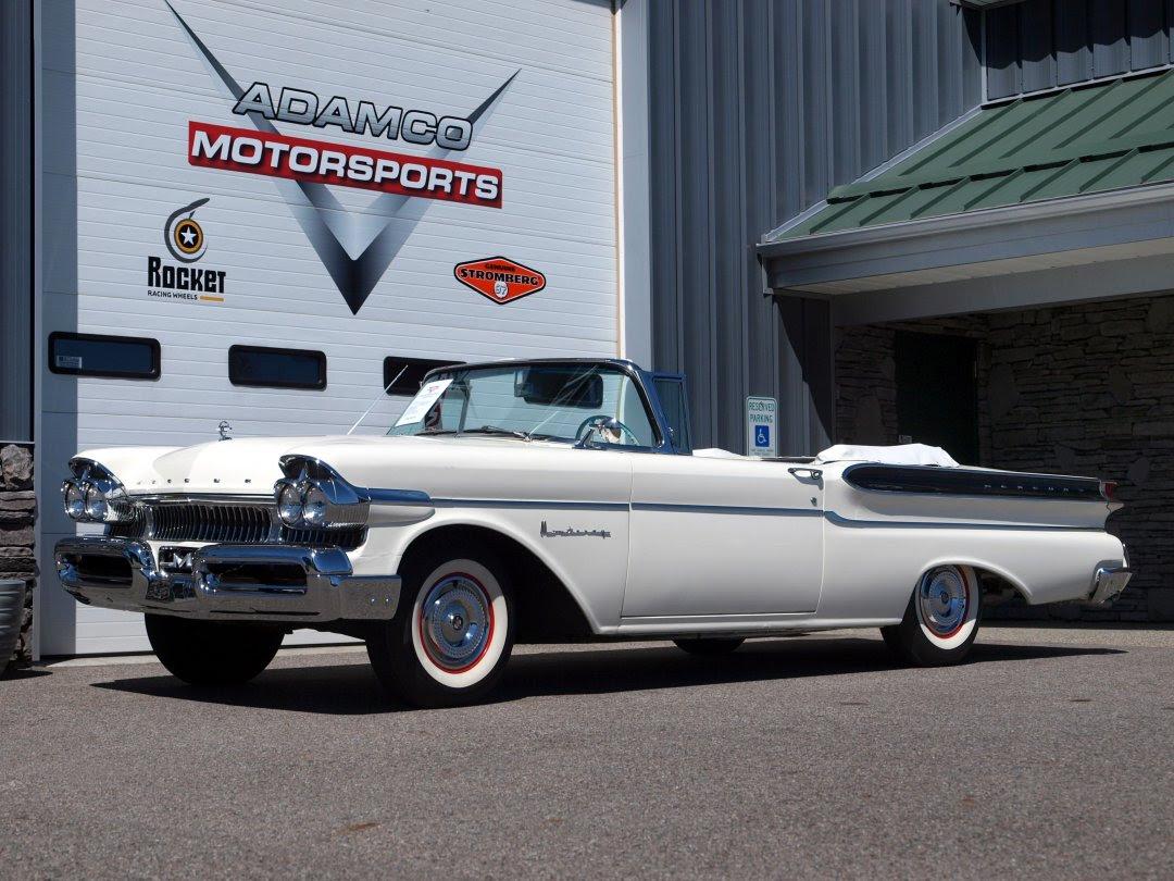 1957 Mercury Monterey Convertible Adamco Motorsports