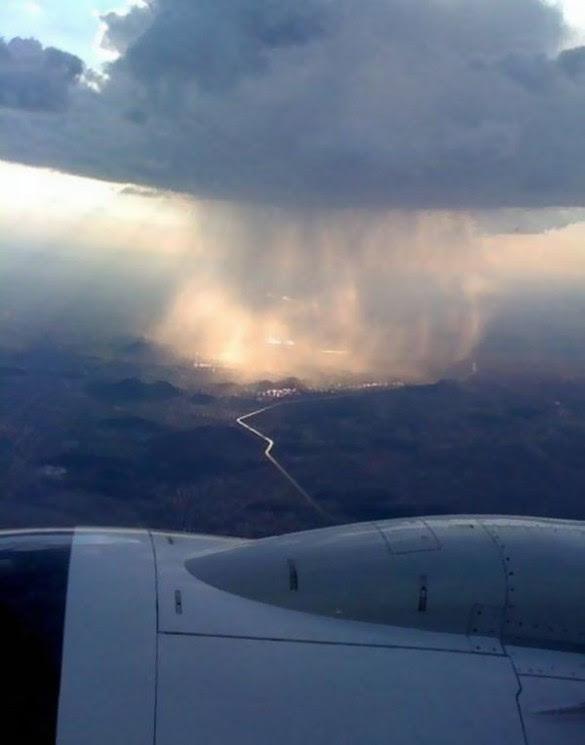 Η βροχή όπως φαίνεται από ψηλά   Φωτογραφία της ημέρας