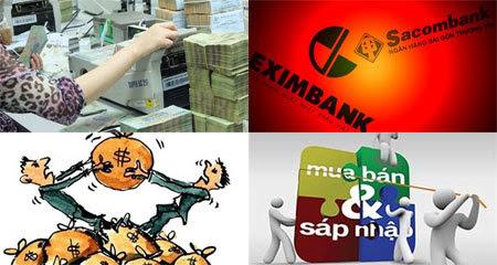 ngân-hàng, thoái-vốn, mua-bán-sáp-nhập, thâu-tóm, mua-bán, lợi-nhuận, nợ-xấu, nhà-đầu-tư, chiến-lược, vốn-ngoại