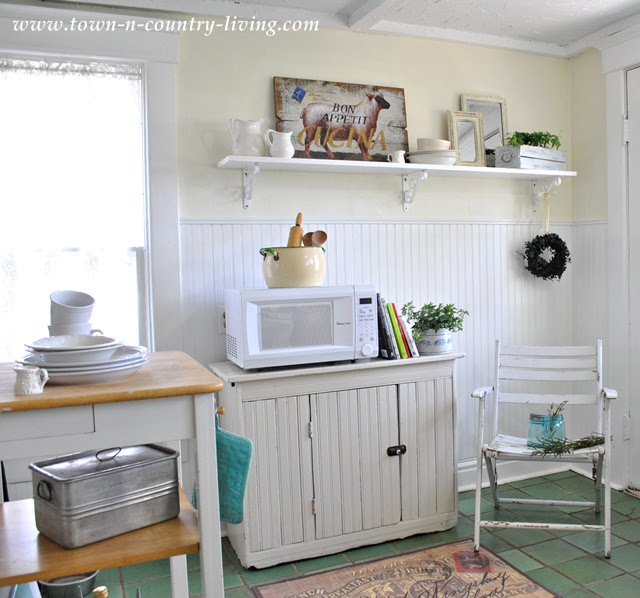 Farmhouse Kitchen at Town and Country Living