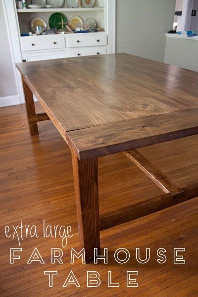 More Like Home Farmhouse Dining Table The Big One