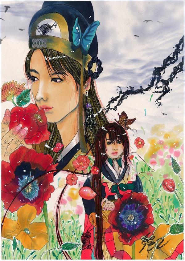 Illustration créée en utilisant l'aquarelle, feutres et édité via Photoshop.  - Quirky Art par Sangsang <3 <3