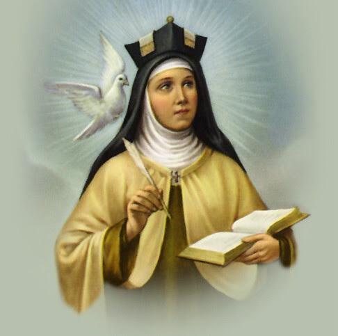 Santa Teresa De Jesús Nada Te Turbe Nada Te Espante