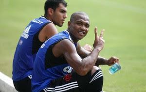 Samir treino Flamengo (Foto: Gilvan de Souza/Fla Imagem)
