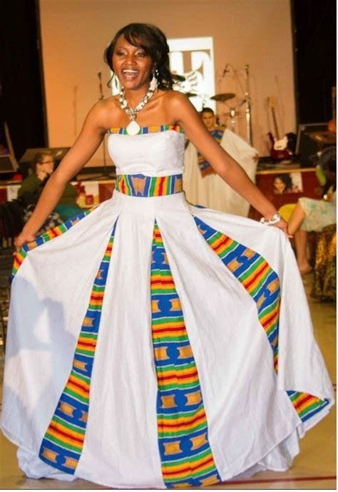 Kente Cloth wedding dress   African/African American