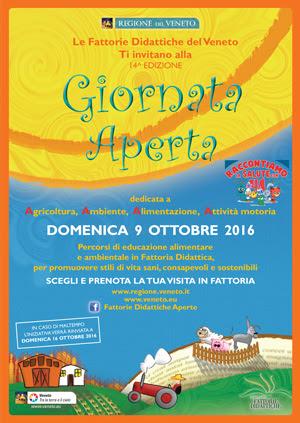 Fattorie Didattiche Aperte del Veneto - 09 Ottobre 2016