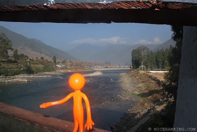 Stickman Punakha Dzong Bridge