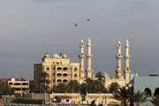 Russische Kampfflugzeuge über Latakia.
